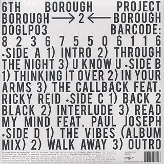 6th Borough Project / Borough 2 Borough (2LP + CD) back