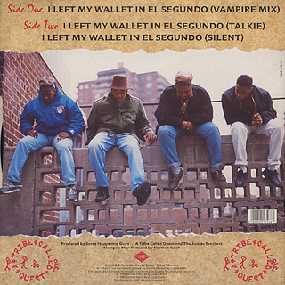 A Tribe Called Quest / I Left My Wallet In El Segundo (Norman Cook Remix) back
