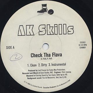 AK Skills / Check The Flava