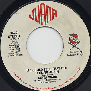 Anita Ward / Ring My Bell c/w If I Could Feel That Old Feeling Again back