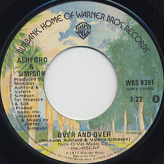 Ashford and Simpson / Over And Over c/w It's You front