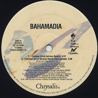 Bahamadia / I Confess (Remix) back