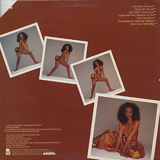 Beverly Johnson / Don't Lose The Feeling back
