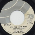 Carole King / I Feel The Earth Move c/w It's Too Late