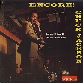 Chuck Jackson / Encore!