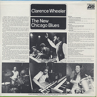 Clarence Wheeler / The New Chicago Blues back