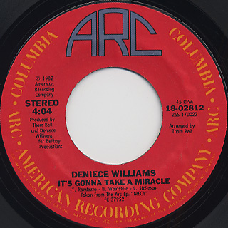 Denice Williams / It's Gonna Take A Miracle