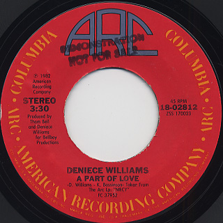 Denice Williams / It's Gonna Take A Miracle back