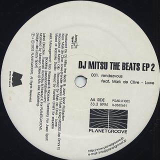 DJ Mitsu The Beats / EP2 back