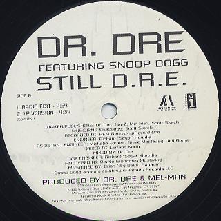 Dr. Dre Featuring Snoop Dogg / Still D.R.E. back
