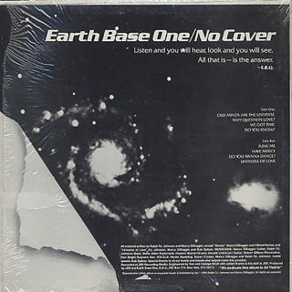 Earth Base One / No Cover back