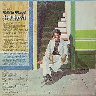 Eddie Floyd / Soul Street back