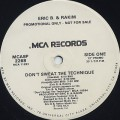 Eric B & Rakim / Don't Sweat The Technique