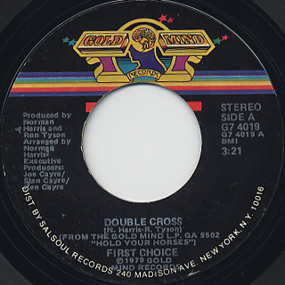 First Choice / Double Cross