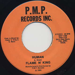 Flame 'N' King And Pazant Bros. / Brandyfoot back