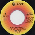 Four Tops / Seven Lonely Nights c/w I Can't Hold On Much Longer