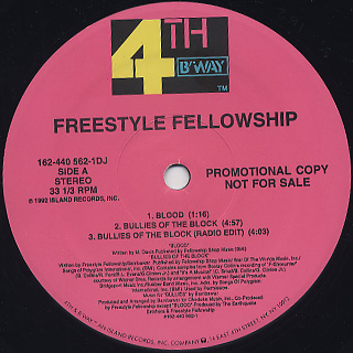 Freestyle Fellowship / Bullies Of The Block back