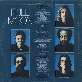 Full Moon / S.T. back
