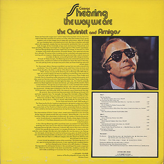 George Shearing, Quintet And Amigos / The Way We Are back