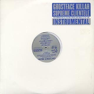 Ghostface Killah / Supreme Clientele Instrumental