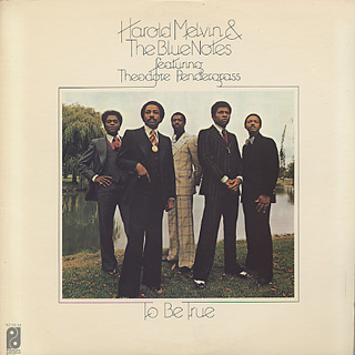 Harold Melvin Amp The Blue Notes To Be True Lp