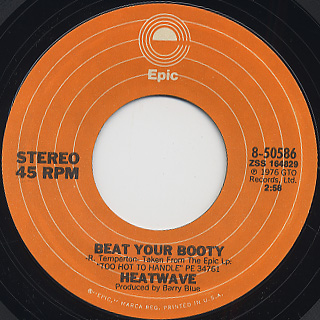 Heatwave / Mind Blowing Decisions c/w Beat Your Booty back