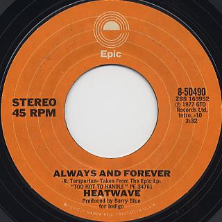 Heatwave / Super Soul Sister