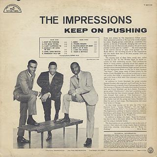 Impressions / Keep On Pushing back