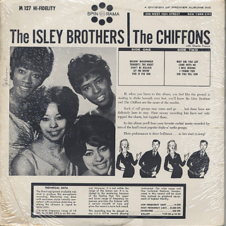Isley Brothers and The Chiffons / Starring Isley Brothers and The Chiffons back