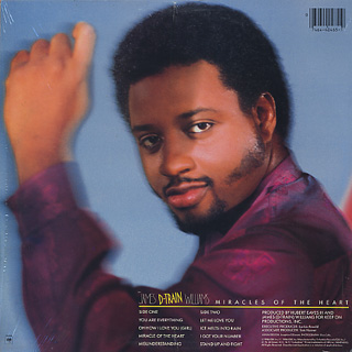 James (D-Train) Williams / Miracles Of The Heart back
