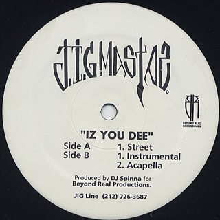 Jigmastas / Iz You Dee