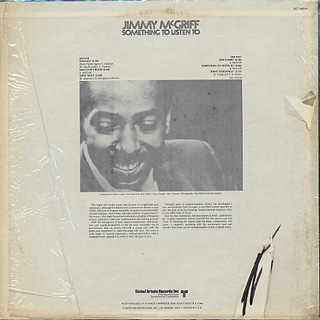 Jimmy McGriff / Something To Listen To back