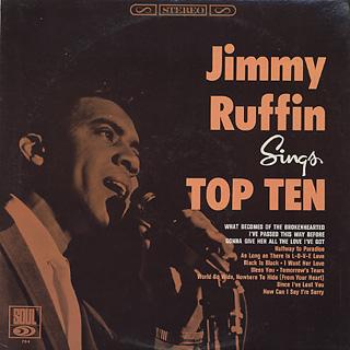 Jimmy Ruffin / Sings Top Ten