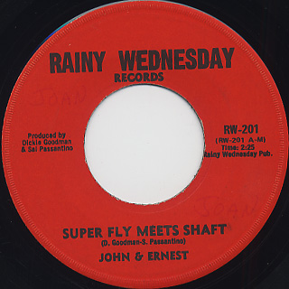 John & Ernest / Super Fly Meets Shaft c/w Part Two