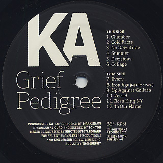 KA / Grief Pedigree