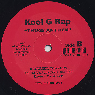 Kool G Rap / Can't Stop The Shine back