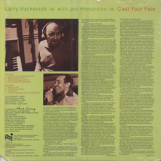 Larry Vuckovich with Jon Hendricks / Cast Your Fate back