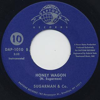 Lee Fields And Sugarman & Co. / Shot Down c/w Honey Wagon back