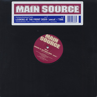 Main Source / Looking At The Front Door(Uncut) c/w Time (12inch), P ...
