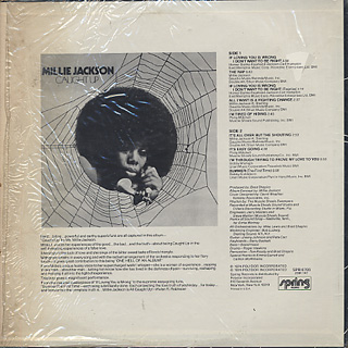 Millie Jackson / Caught Up back