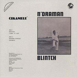 N'Draman Blintch / Cikamele back