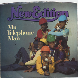 New Edition / Mr.Telephone Man c/w Instrumental