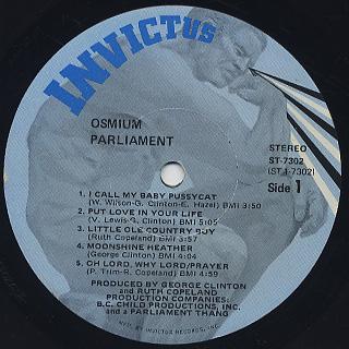 Parliament / Osmium label