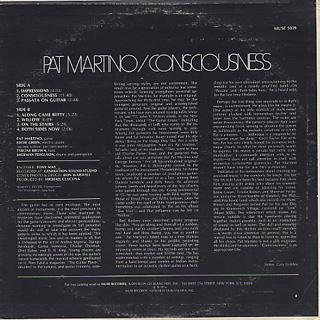 Pat Martino / Consciousness back