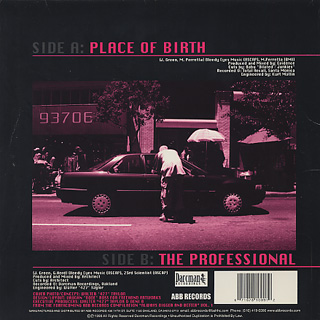 Planet Asia / Place Of Birth back