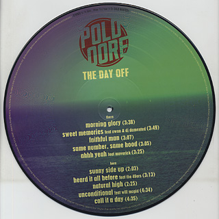 Poldoore / The Day Off LP back
