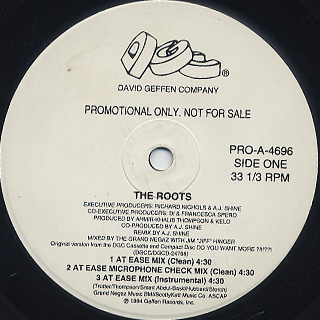 Roots / Distortion To Static (Remixes) back