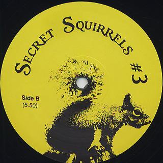 Secret Squirrel / Secret Squirrel # 3 back