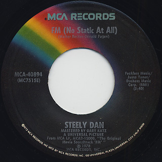 Steely Dan / F.M. (No Static At All)
