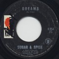 Sugar & Spice / Dreams c/w Ah Ha Yeah